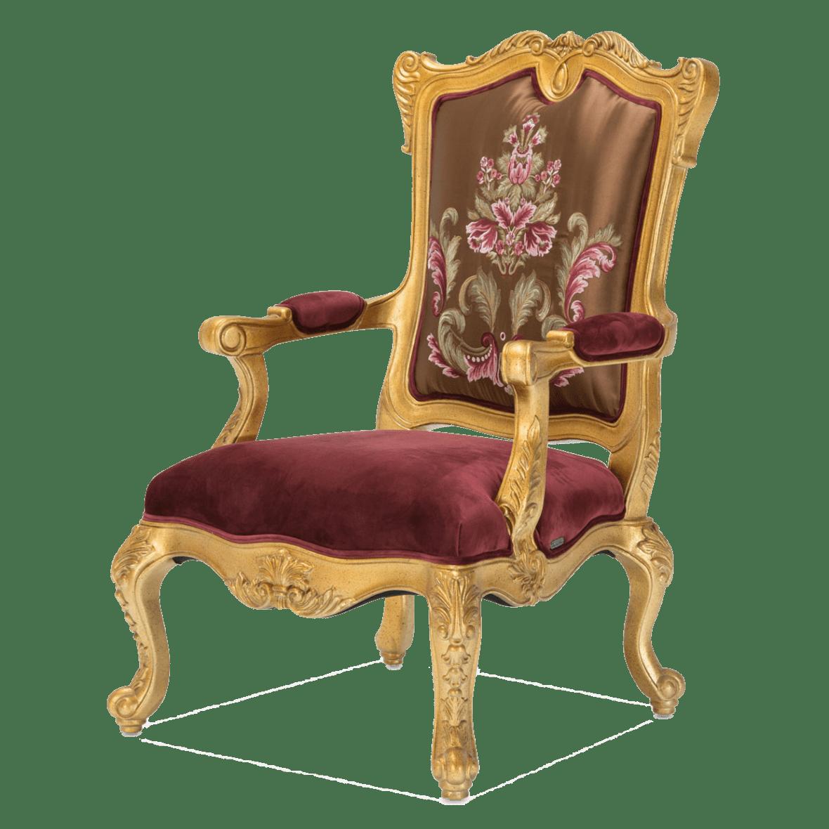 Стул акцентный Monique Antique Gold