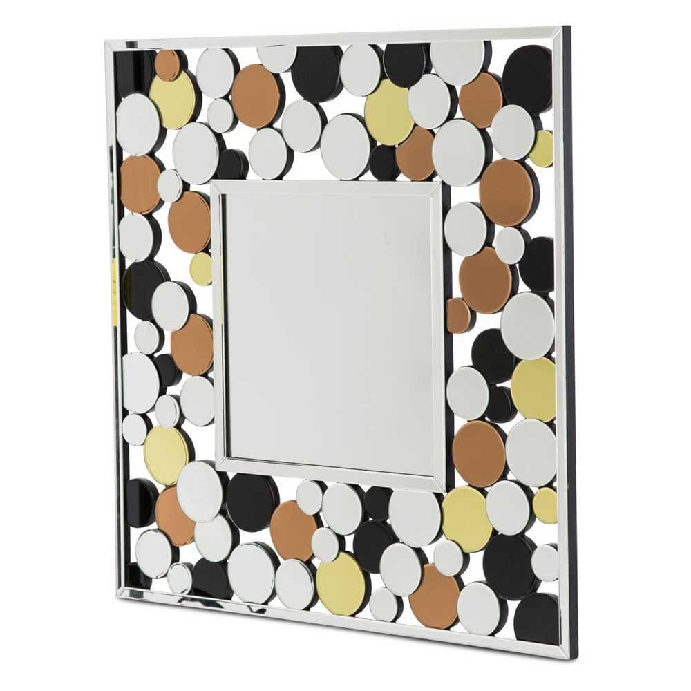 Зеркало настенное Цветные пятна