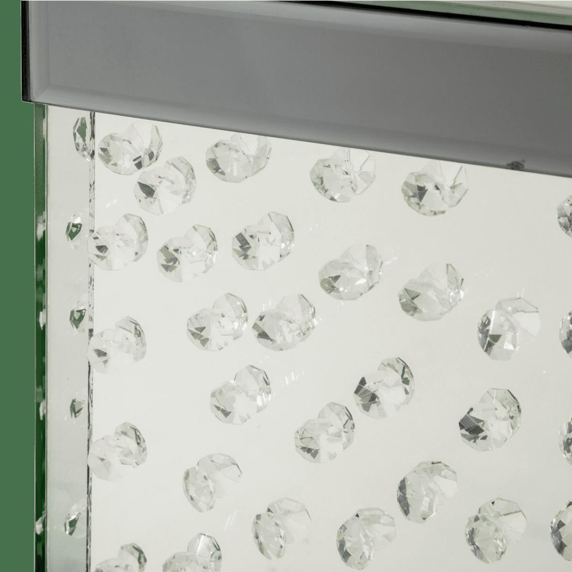 Ваза Прозрачный кристалл, средняя