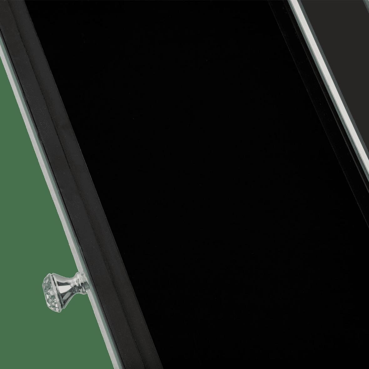 Зеркальная консоль с ящиками