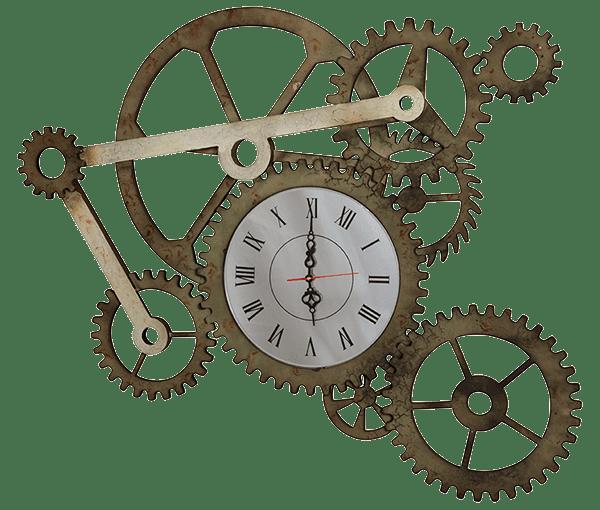 Часы настенные открытые