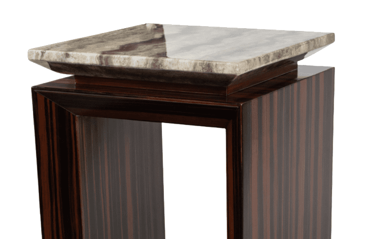 Акцентный столик с эбонитом Sergio высокий