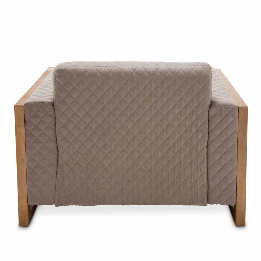 Кесло Acacia обивка Gray
