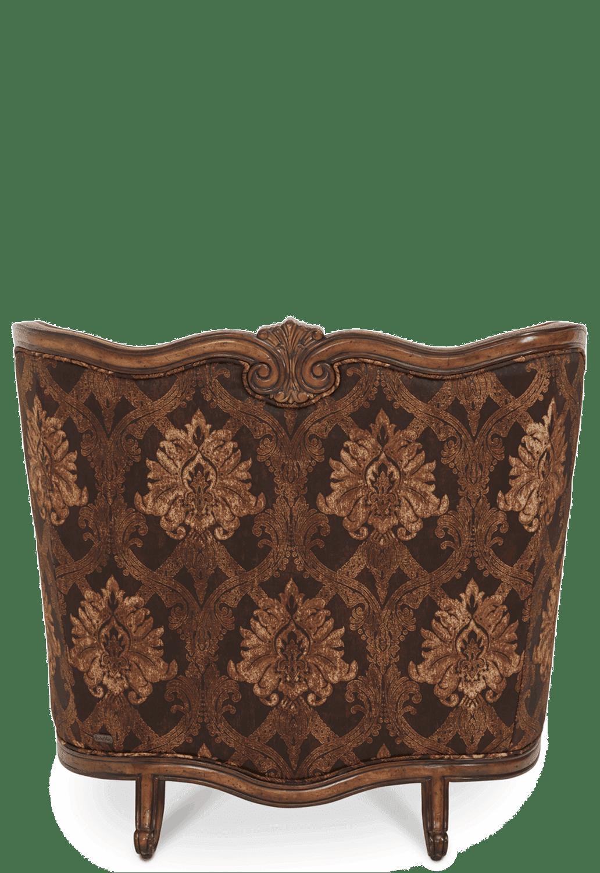 Кресло полуторное для чтения с комбинированной подушкой кожа/велюр