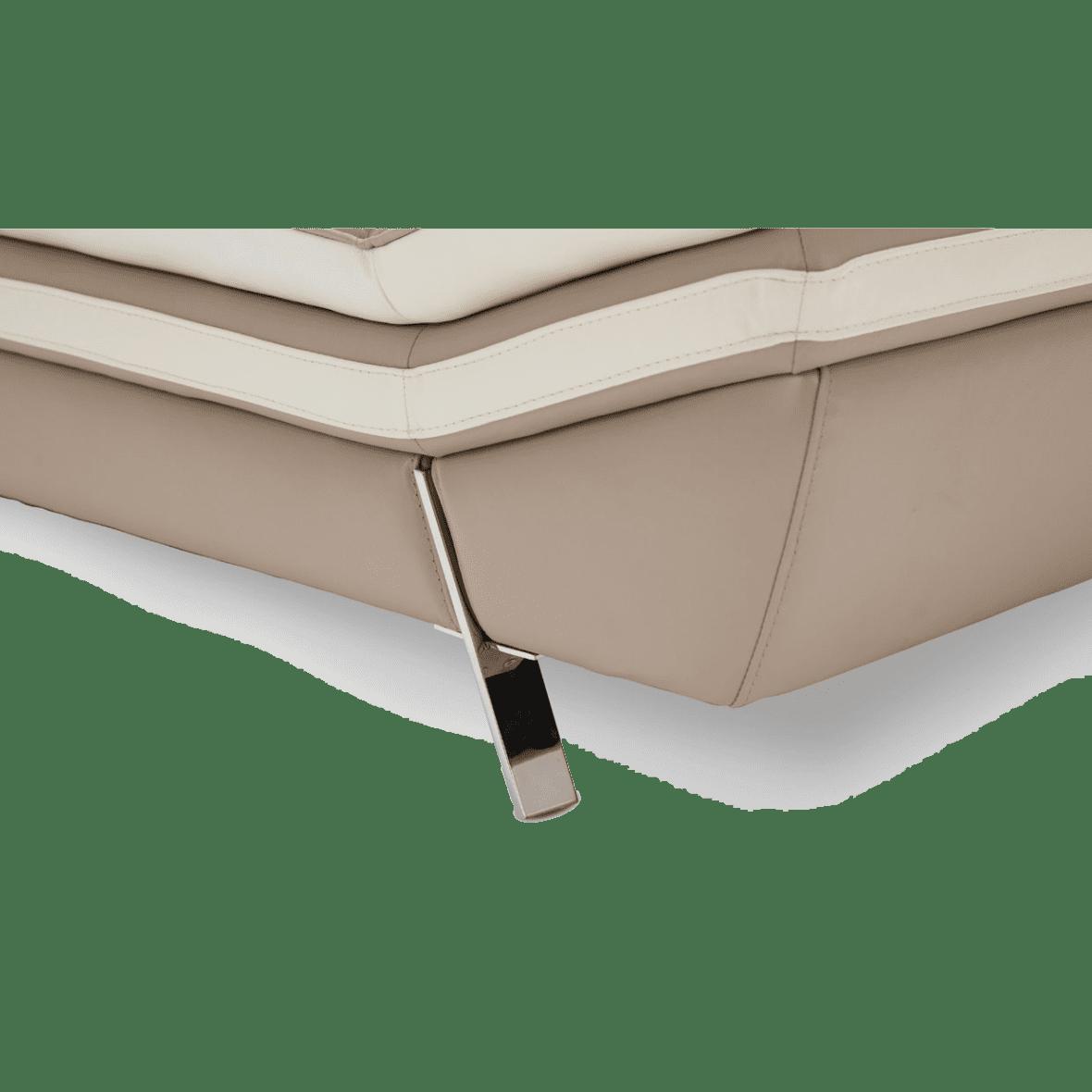 Carlin софа стандарт,цвет Taupe, база нерж сталь