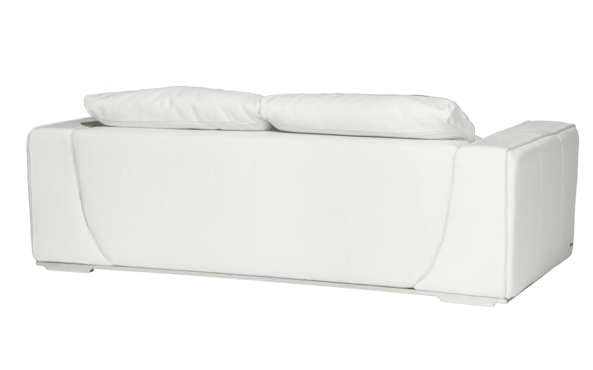 Sophia софа стандарт, White, нерж сталь