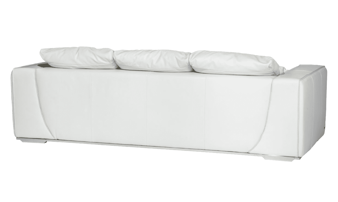 Sophia большая софа, White, нерж сталь
