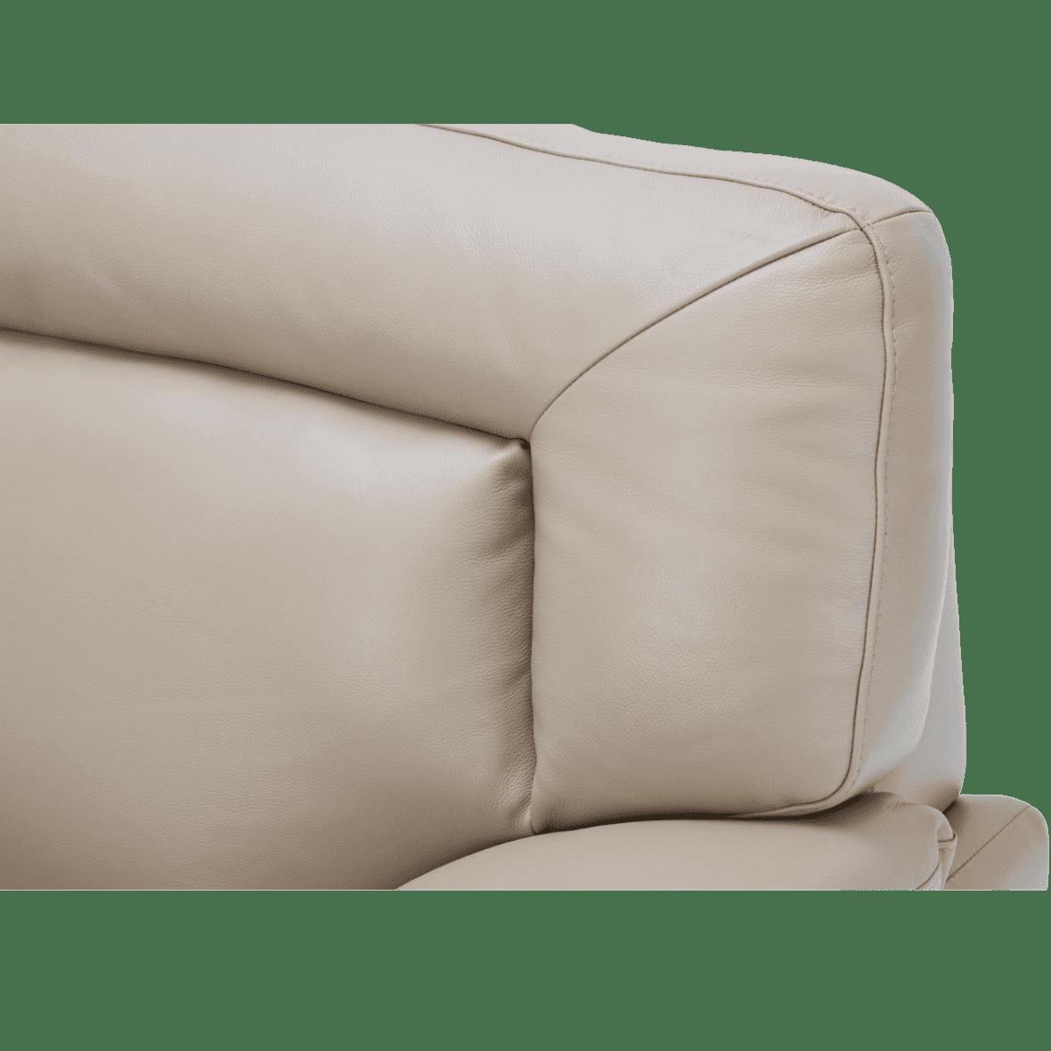 Turano кожаная матовая софа стандарт, Mocha