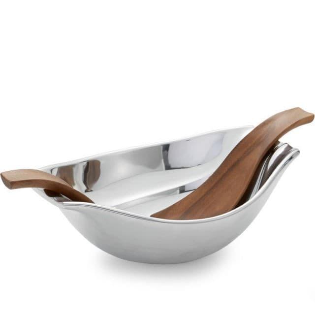 Чаша Drift  для салата, с кулинарными ложками,  дизайн Wey Young