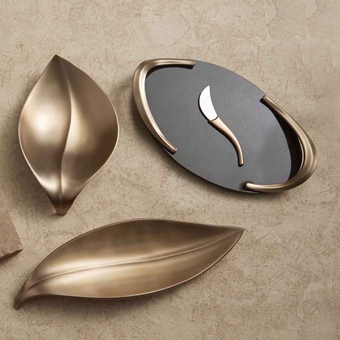 Гранитная сырная доска Eco с ножом,  дизайн Neil Cohen