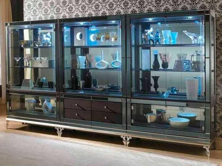 Книжный шкаф-витрина Caviar