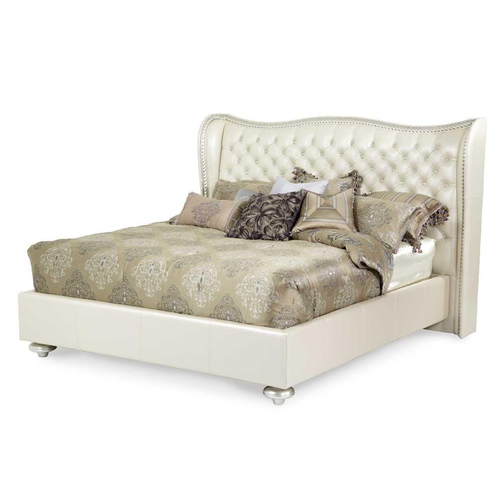 Кровать размер Eastern King цвет Creamy Pearl