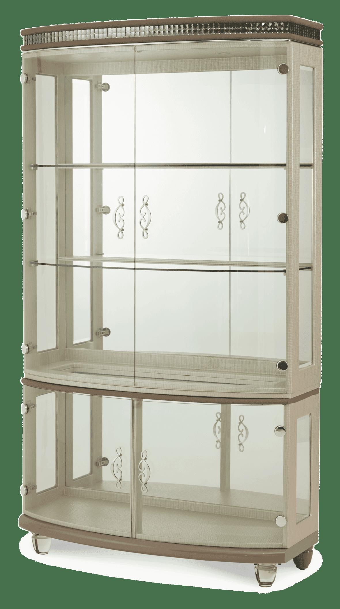 Книжный шкаф-витрина