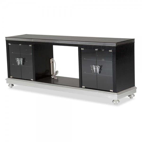Консоль для ТВ со встроенной зарядной станцией Black Iguana