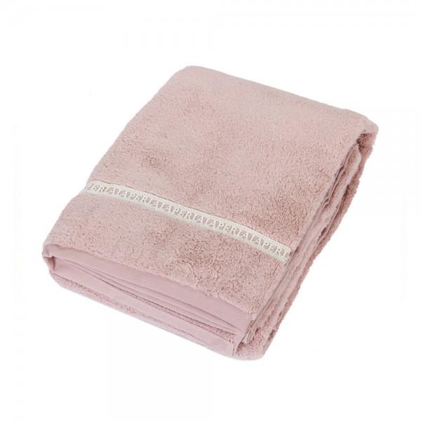 Полотенце La Perla Home Macrame Telo, розовое