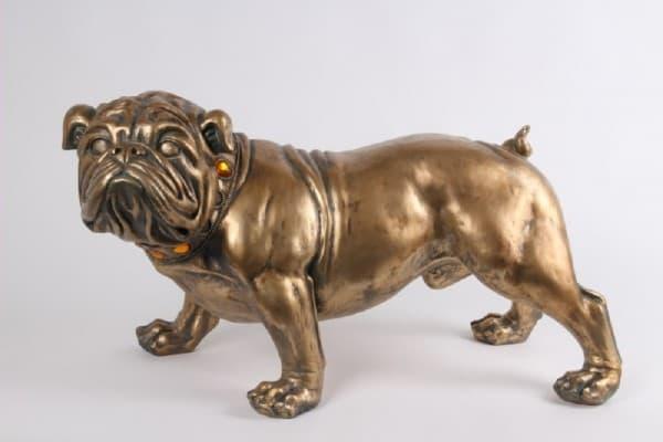 Скульптура кабинетная Бульдог