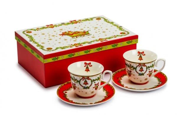 Подарочный сет из двух чайных пар