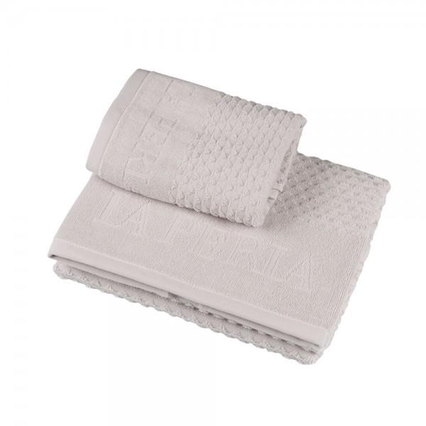 Набор полотенец (2 шт.) La Perla Home Adone Ospite, белый