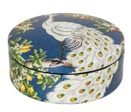 Коробка Peacock, ручная роспись