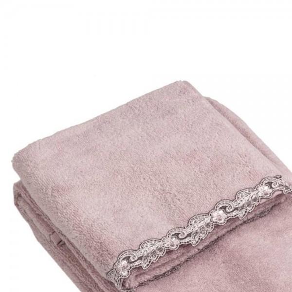Полотенце La Perla Home Petit Maison Lavette, розовое