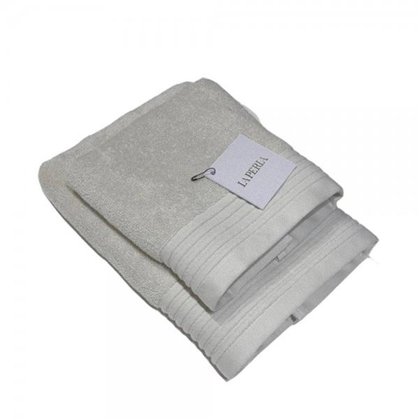Набор полотенец (2 шт.) La Perla Home Nervures Ospite, серый