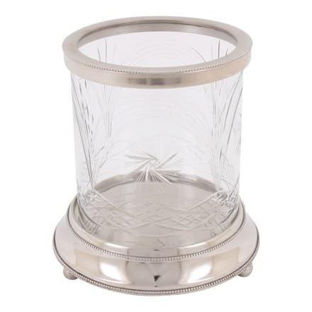 Подсвечник Hurricane, резаное стекло