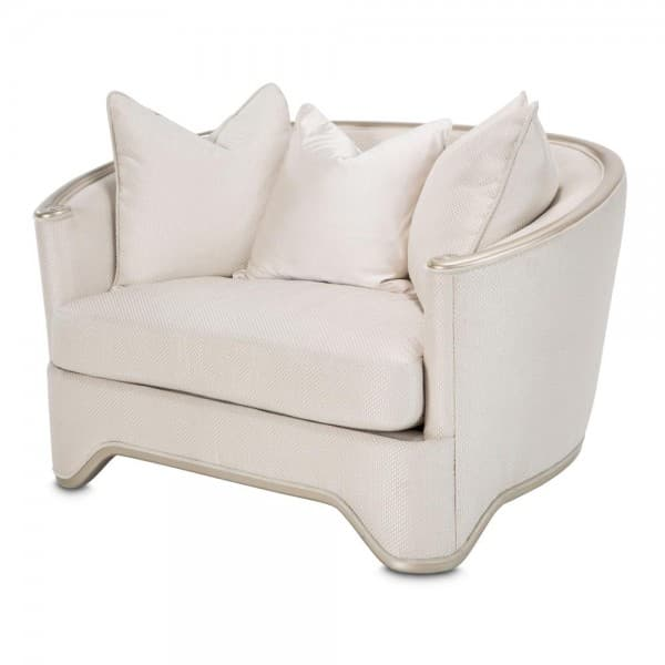 Кресло широкое для чтения, цвет Light Champagne