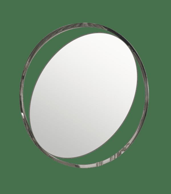 Овальное настенное зеркало