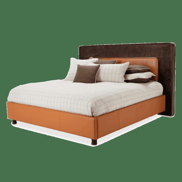 Кровать со стеганым изголовьем Размер Eastern King