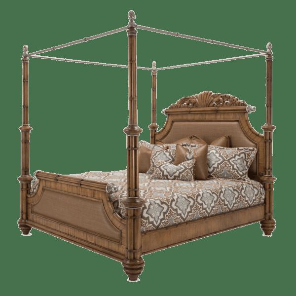 Кровать с балдахином размер Eastern King