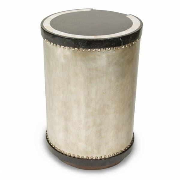 Стол-барабан с инкрустацией