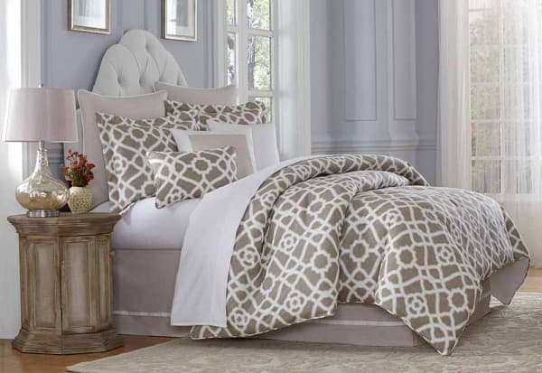 """Harper"" Декоративное покрывало и подушки, набор из 10 предметов  (King) цвет Natural"