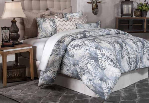 """Miramar"" Декоративное покрывало и подушки, набор из 10 предметов  (King) цвет Smoke"