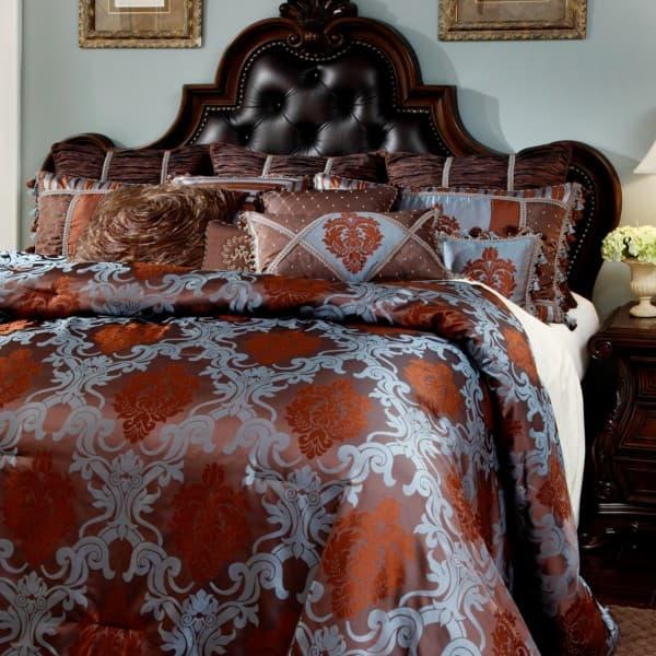 """""""Bellingham Court"""", Декоративное покрывало и подушки (Queen)"""