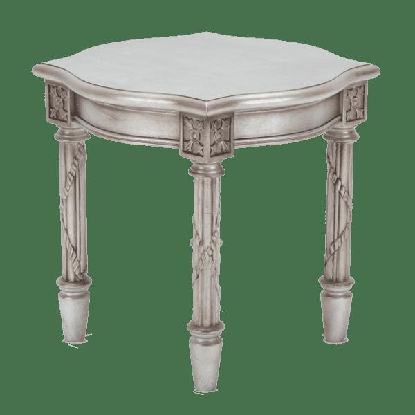 Стол под лампу круглый Giselle Platinum