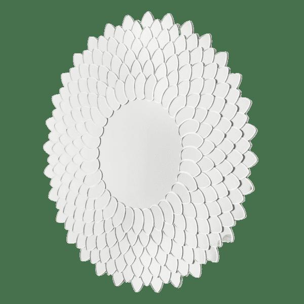 Зеркало круглое, Ар Деко, Хризантема