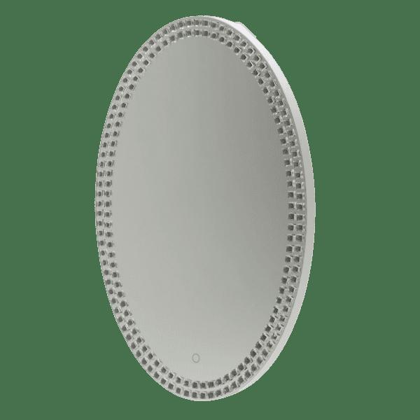 Зеркало овальное, рама с LED подсветкой
