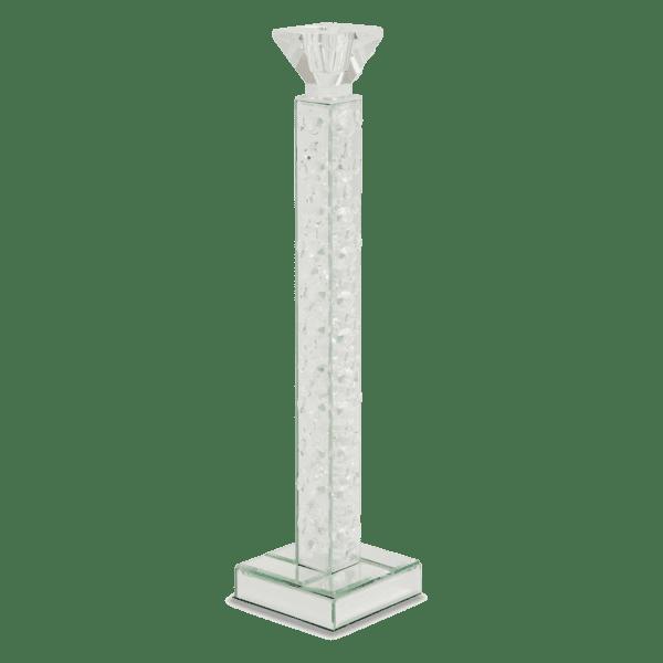 Зеркальный подсвечник, рельефная колонна, средний