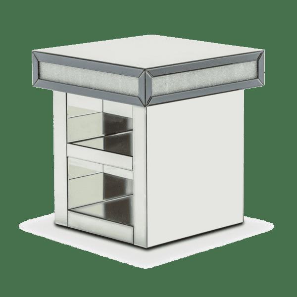 Зеркальный приставной стол