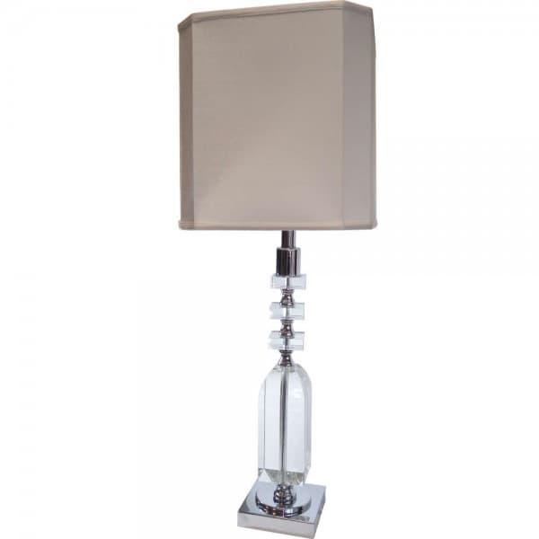 Лампа настольная Crystal&Chrome 150W