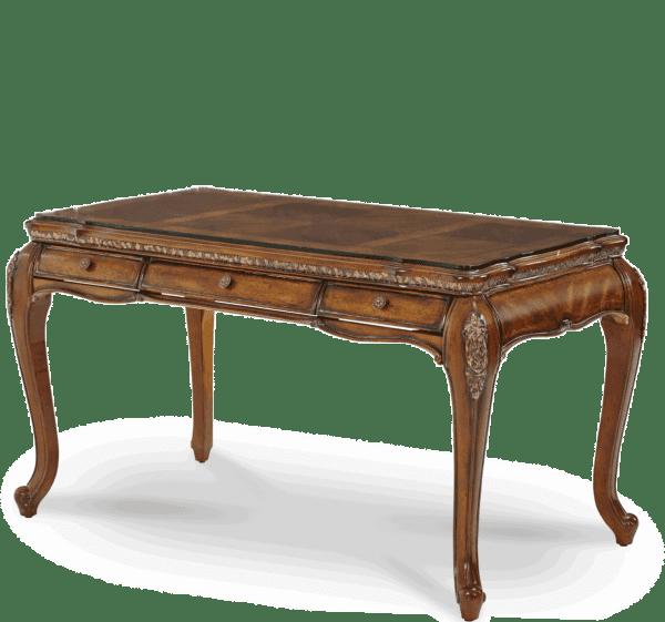 Стол письменный со стеклом