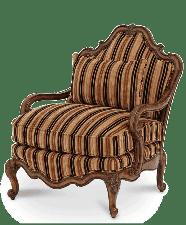Кресло для чтения шоколад/беж
