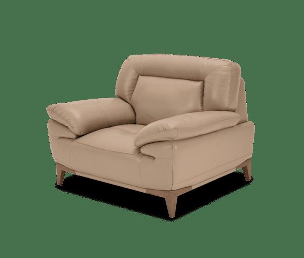 Turano кресло кожаное, Taupe