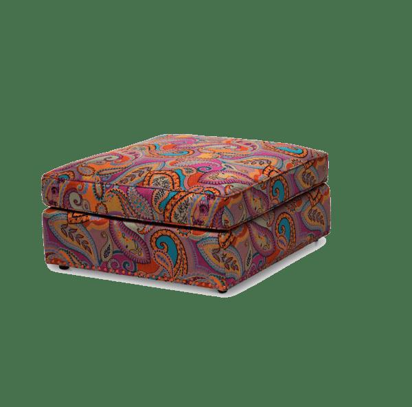Пуф - коктейльнй стол квадратный, Paisley