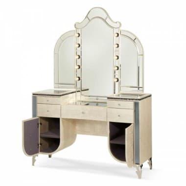 Туалетный столик с Зеркалом  Crystal Croc
