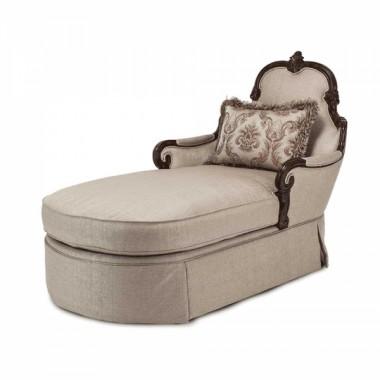 Кресло-отоманка Chaise Stone Lt. Espresso
