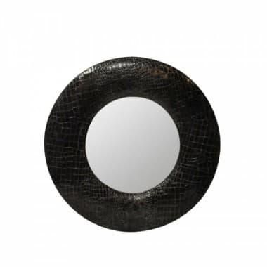 """Зеркало CrocoS """"black crocos"""""""