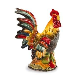 Керамическая декоративная скульптура Петух Le Coq, 29 см