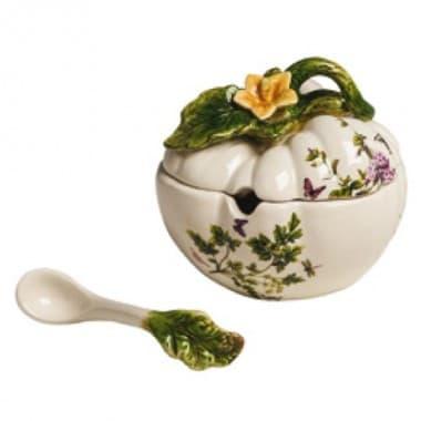 Горшочек для сальсы Ботаника, ручная роспись
