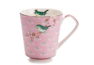 Кружка чайная 300 мл, розовый